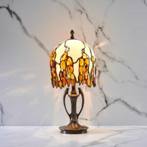 lampa bursztynowa Como