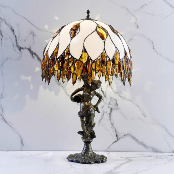 lampa bursztynowa Milano