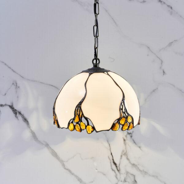 lampa wisząca z bursztynem Popoli B3-25