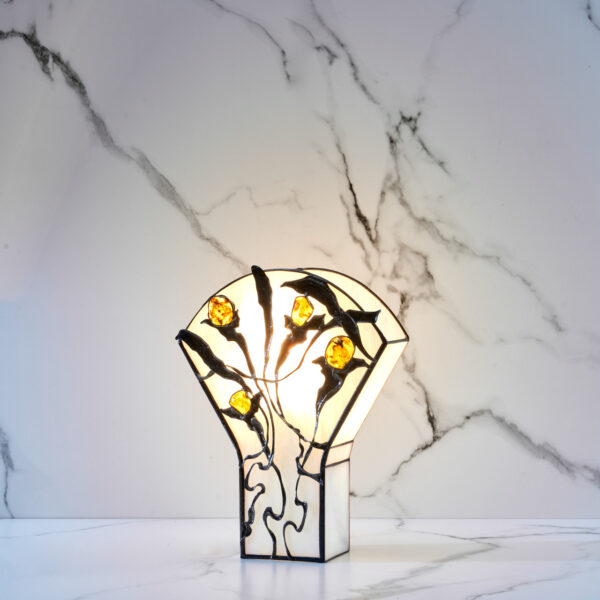 lampa z bursztynem Ostia Y-28 (1)