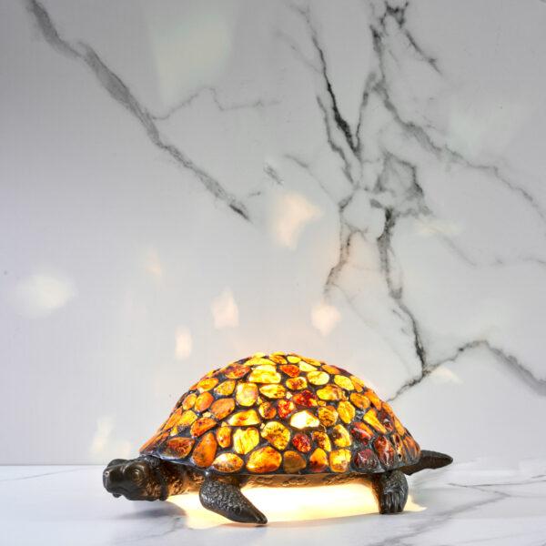 żółw z bursztynu