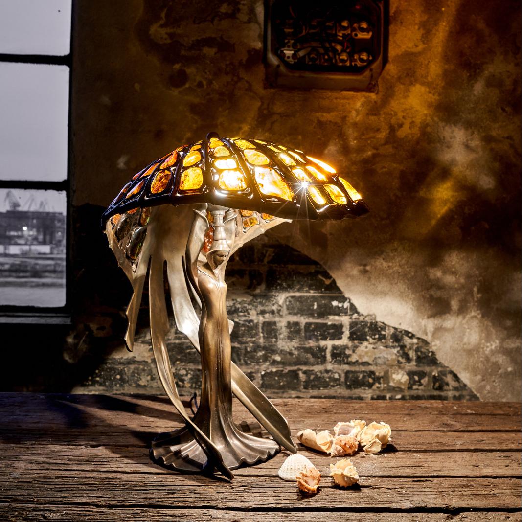 lampa bursztynowa assisi